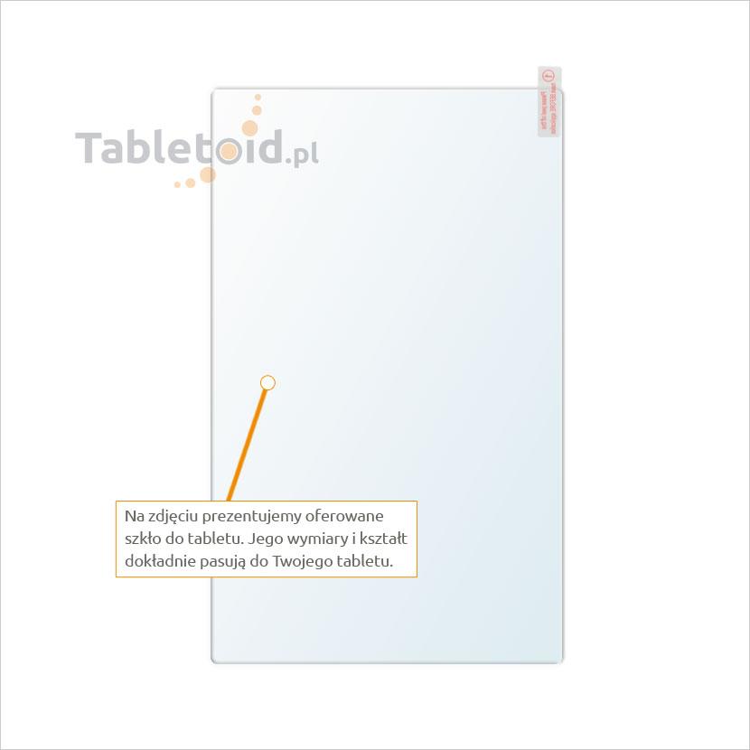 Dedykowane szkło hartowane (glass) na tablet Huawei MediaPad M1 8.0
