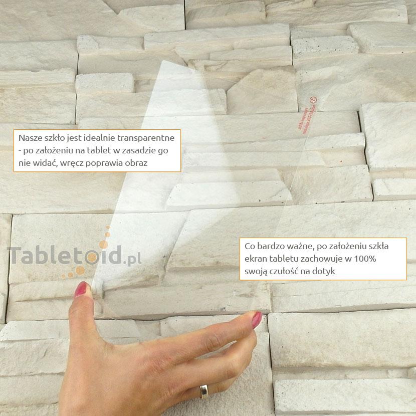 Szkło hartowane w dłoniach - Huawei MediaPad M1 8.0