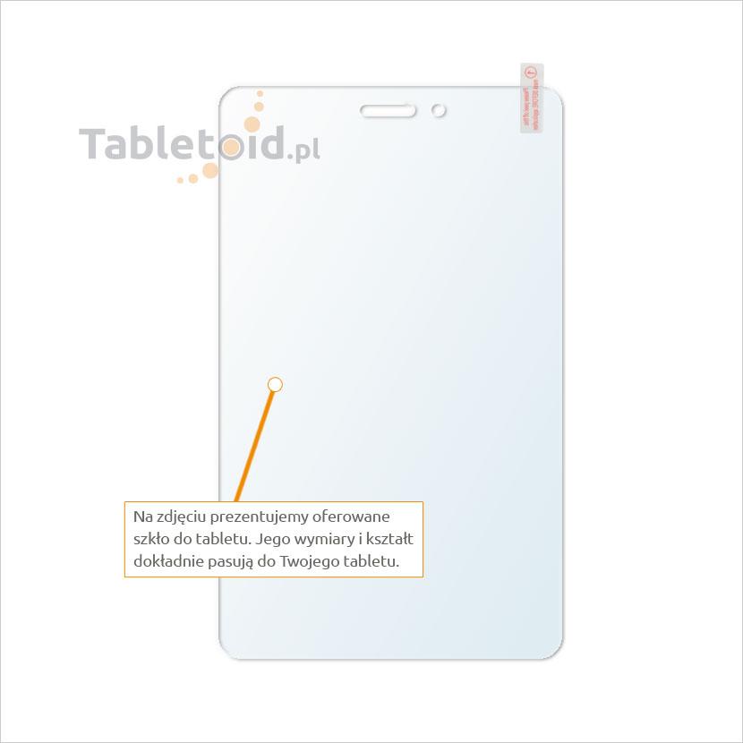 Dedykowane szkło hartowane (tempered glass) na tablet Huawei MediaPad T1 8.0