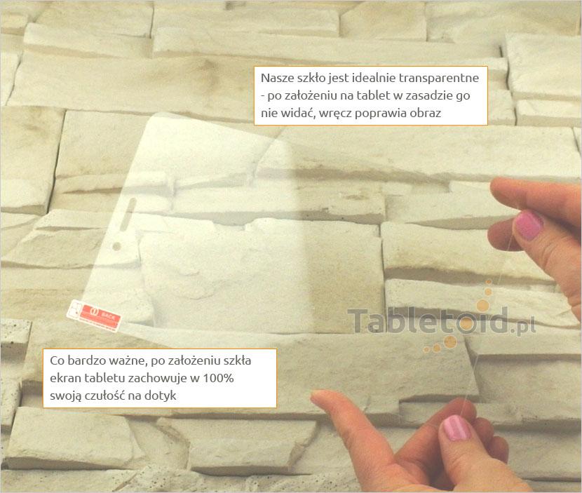 Szkło hartowane w dłoni - Huawei MediaPad T1 8.0