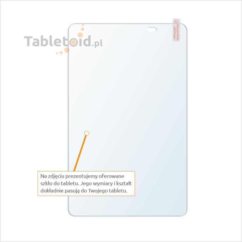Dedykowane szkło hartowane (glass) na tablet Huawei T1 A21W
