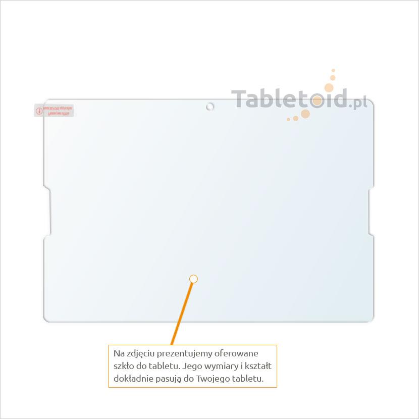Dedykowane szkło hartowane (glass) na tablet Lenovo A7600-F Tab A10-70