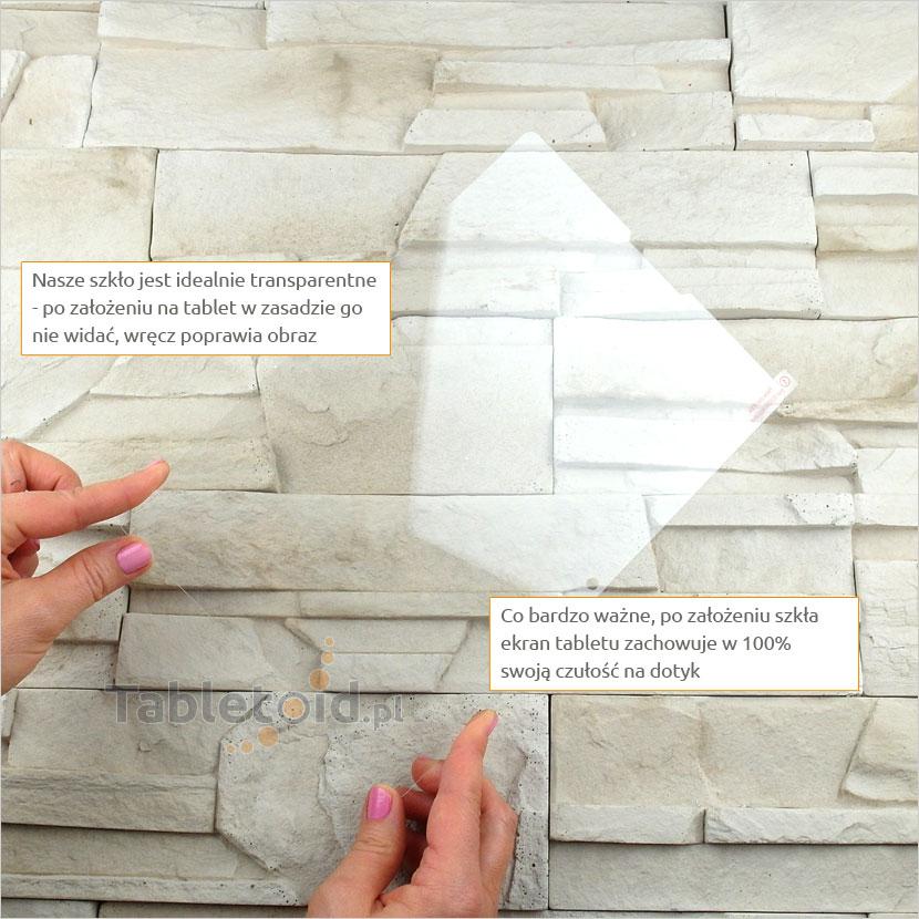 Szkło hartowane w dłoniach - Lenovo A7600-F Tab A10-70