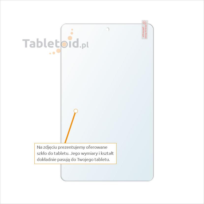 Dedykowane szkło hartowane (tempered glass) na tablet Lenovo Ideapad Miix 300