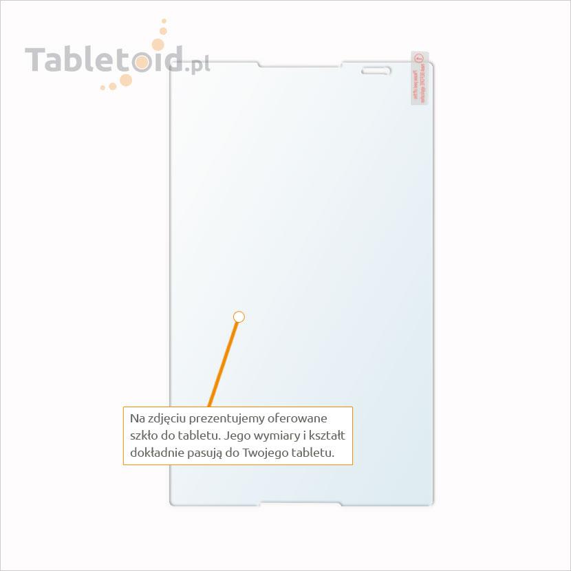Dedykowane szkło hartowane (tempered glass) na tablet Lenovo Tab S8-50L