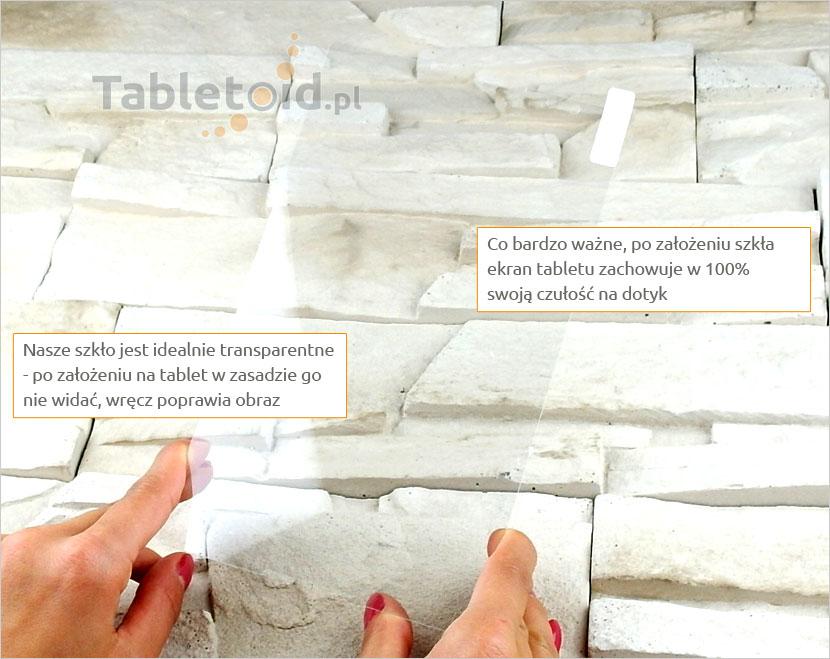 Szkło hartowane w dłoniach - Lenovo Tab S8-50L
