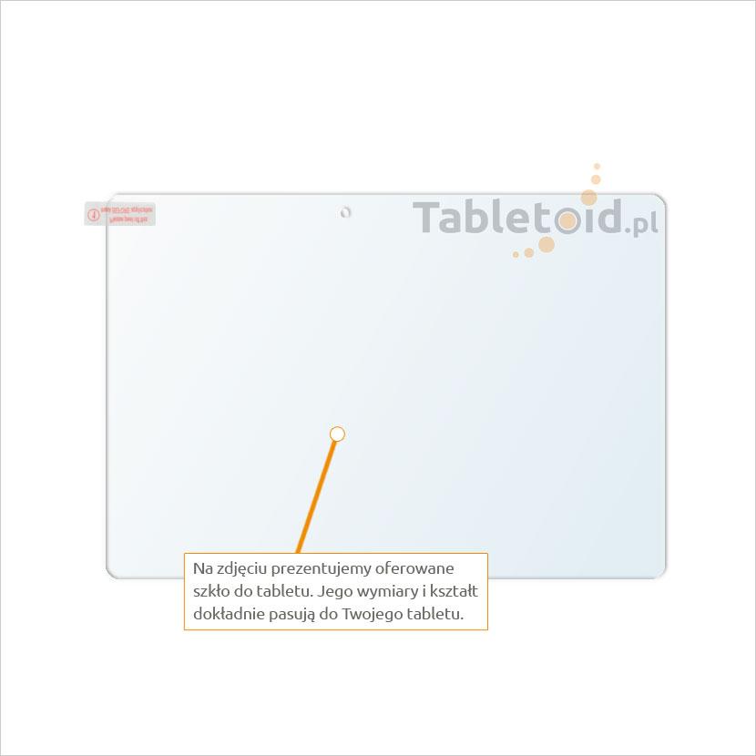 Dedykowane szkło hartowane (tempered glass) na tablet Lenovo Tab 2 A10-70 F