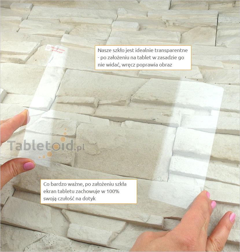 Szkło hartowane w dłoniach - Lenovo Tab 2 A10-70 F