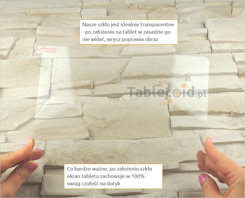 Szkło hartowane w rękach - Samsung Galaxy Note 10.1 p600