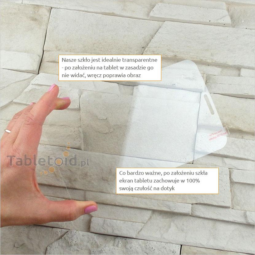 Szkło hartowane w rękach - Samsung Galaxy Tab 3 7.0