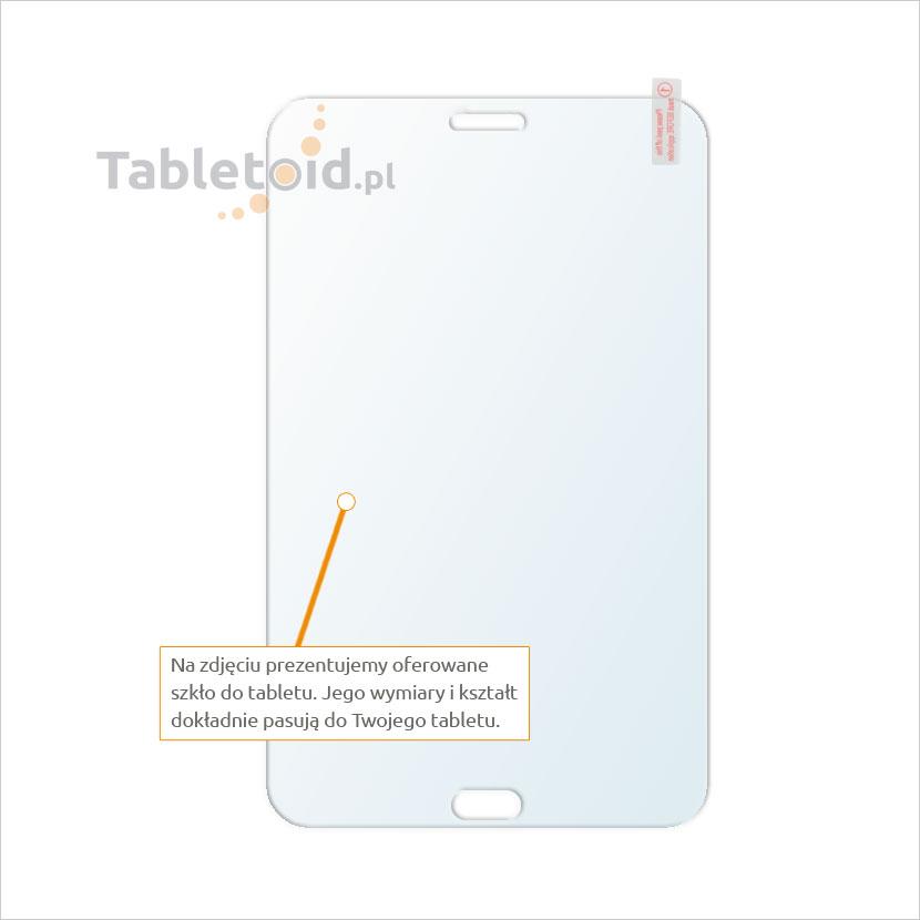 Dedykowane szkło hartowane (glass) na tablet Samsung Galaxy Tab 3 Lite 7
