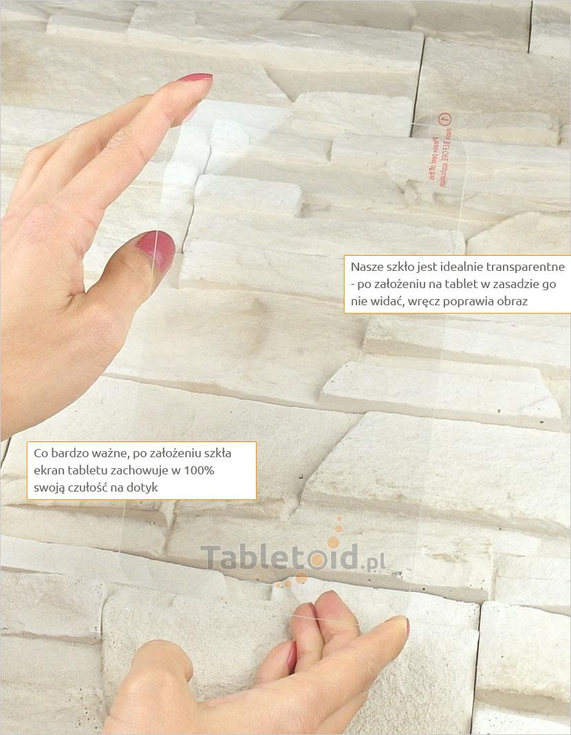 Szkło hartowane w dłoniach - Samsung Galaxy Tab 3 Lite 7