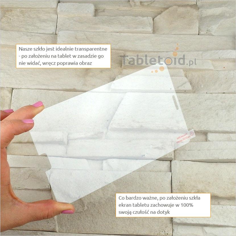Szkło hartowane w dłoniach - Samsung GALAXY Tab 4 7.0