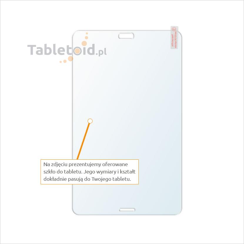 Dedykowane szkło hartowane (glass) na tablet Samsung GALAXY Tab 4 8.0