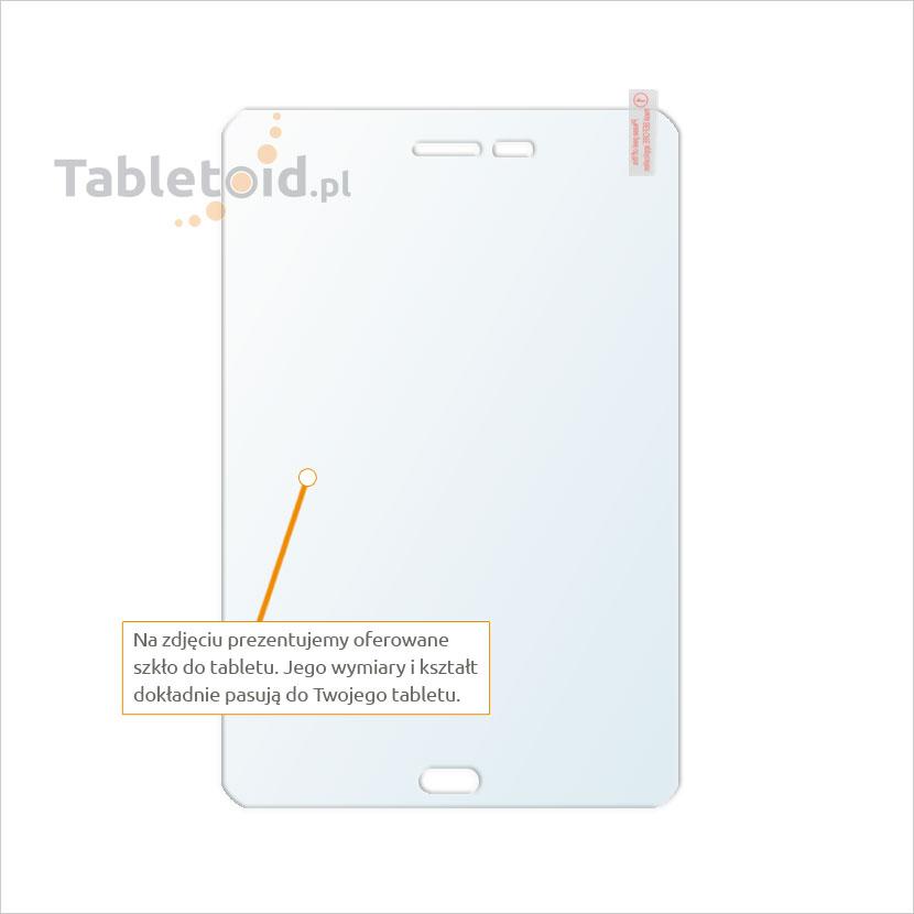Dedykowane szkło hartowane (tempered glass) na tablet SAMSUNG T350 Galaxy Tab A 8.0