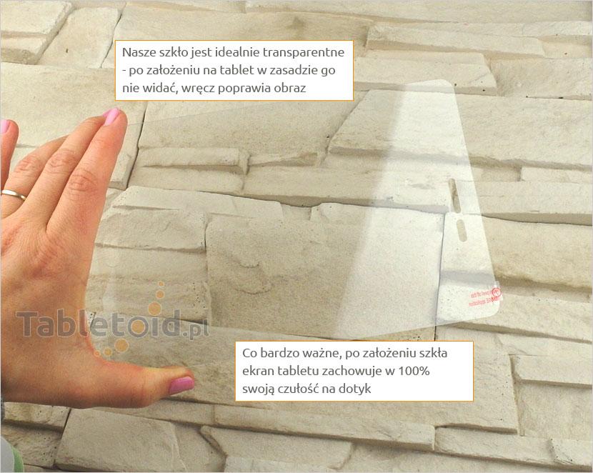 Szkło hartowane w dłoniach - SAMSUNG T350 Galaxy Tab A 8.0