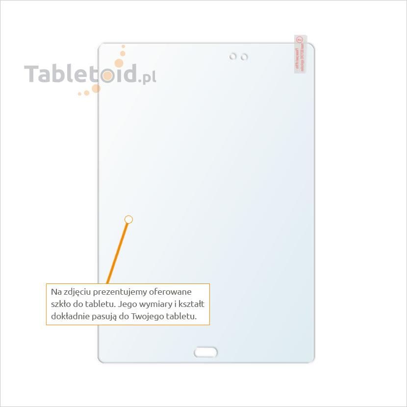Dedykowane szkło hartowane (glass) na tablet Samsung Galaxy Tab A 9.7 T550