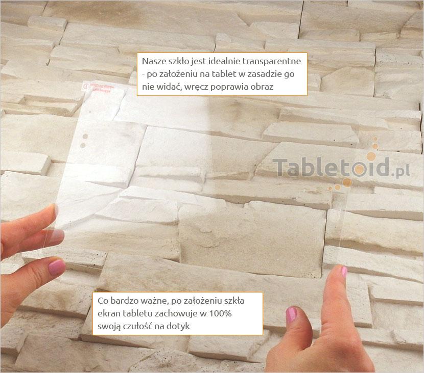 Szkło hartowane w dłoni - Samsung Galaxy Tab A 9.7 T550