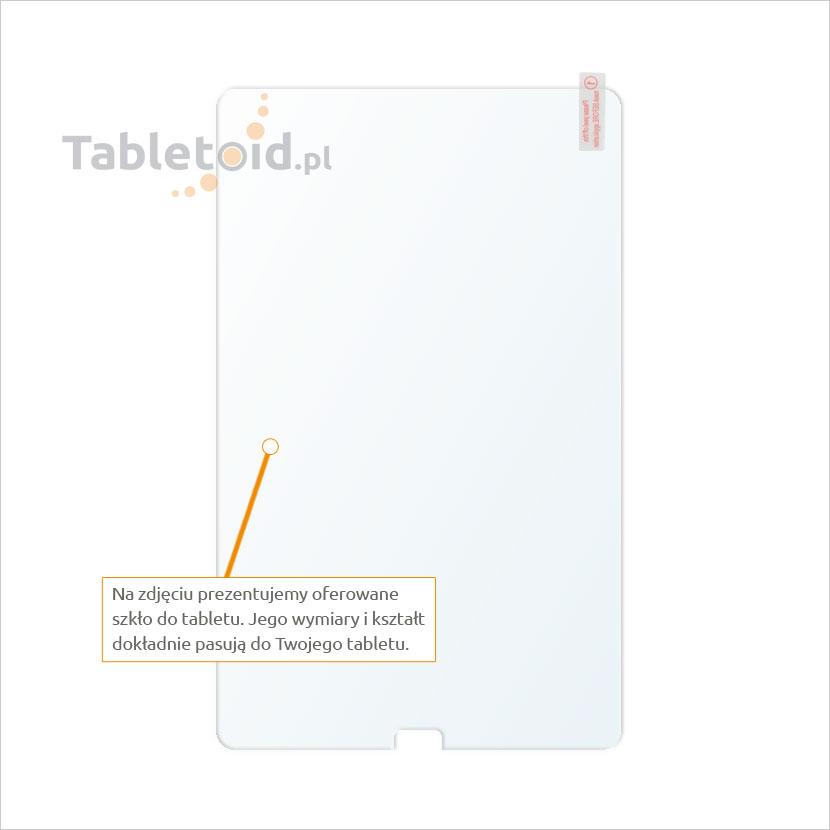 Dedykowane szkło hartowane (glass) na tablet Samsung Galaxy Tab E 9.6 (T560)
