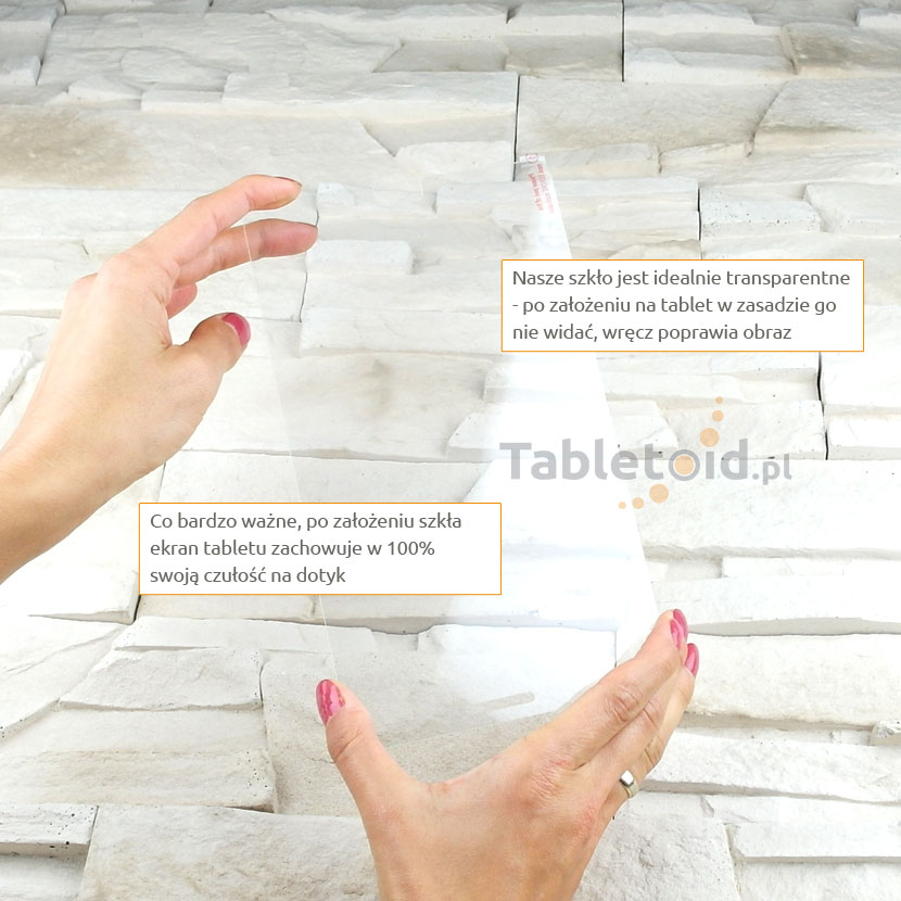 Szkło hartowane w dłoniach - Samsung Galaxy Tab Pro 8.4