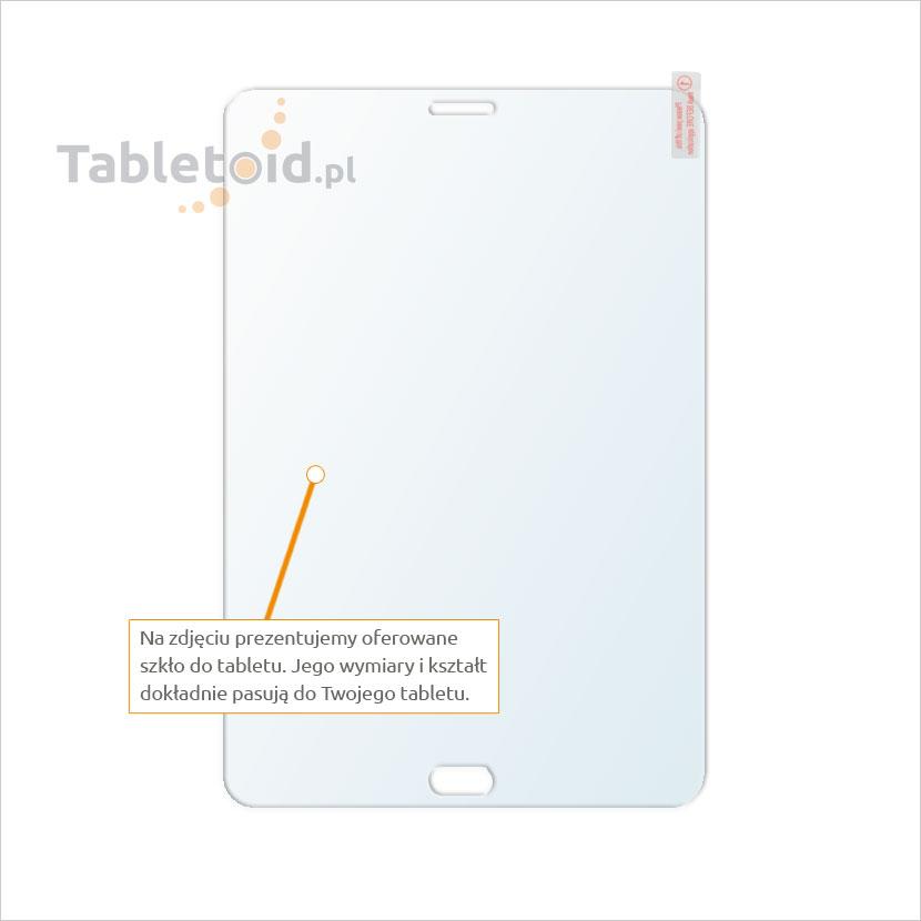 Dedykowane szkło hartowane (tempered glass) na tablet Samsung Galaxy Tab S2 8.0