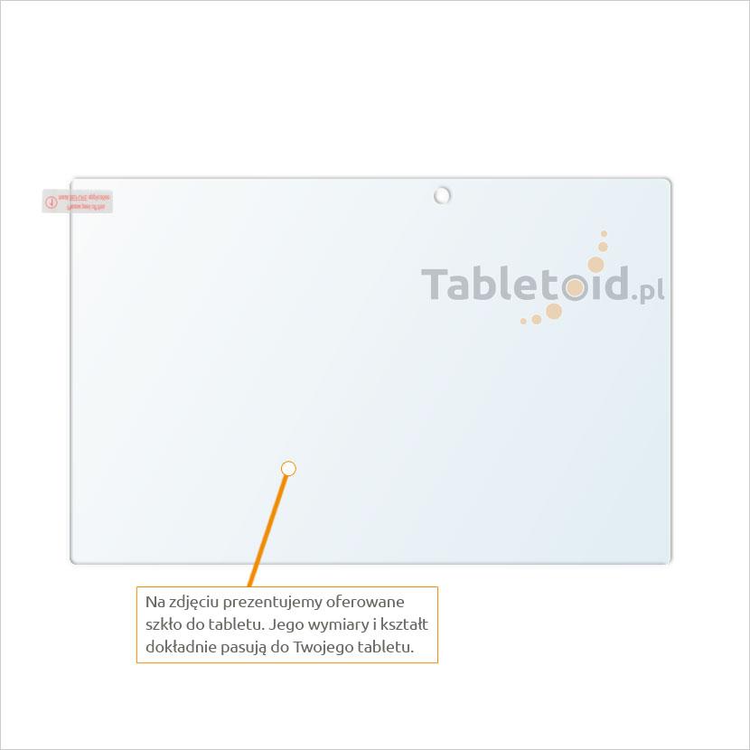 Dedykowane szkło hartowane (glass) na tablet Sony Xperia Z2 10.1
