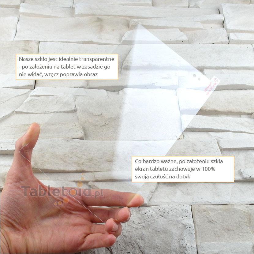 Szkło hartowane w dłoniach - Sony Xperia Z3 Tablet Compact