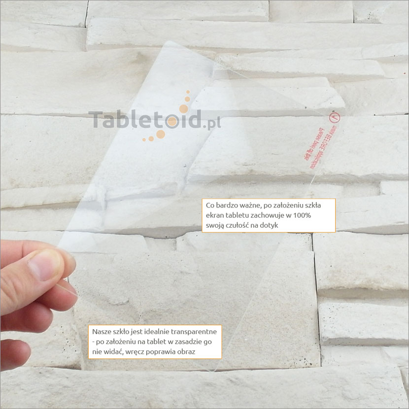 Szkło hartowane w rękach - Amazon Kindle Paperwhite 3
