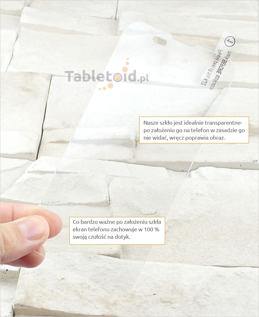 szkło ochronne na telefon  Xiaomi Mi 2, 2S