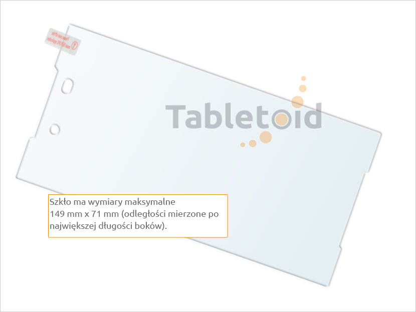 Zawartość ze szkłem Sony Xperia Z5+