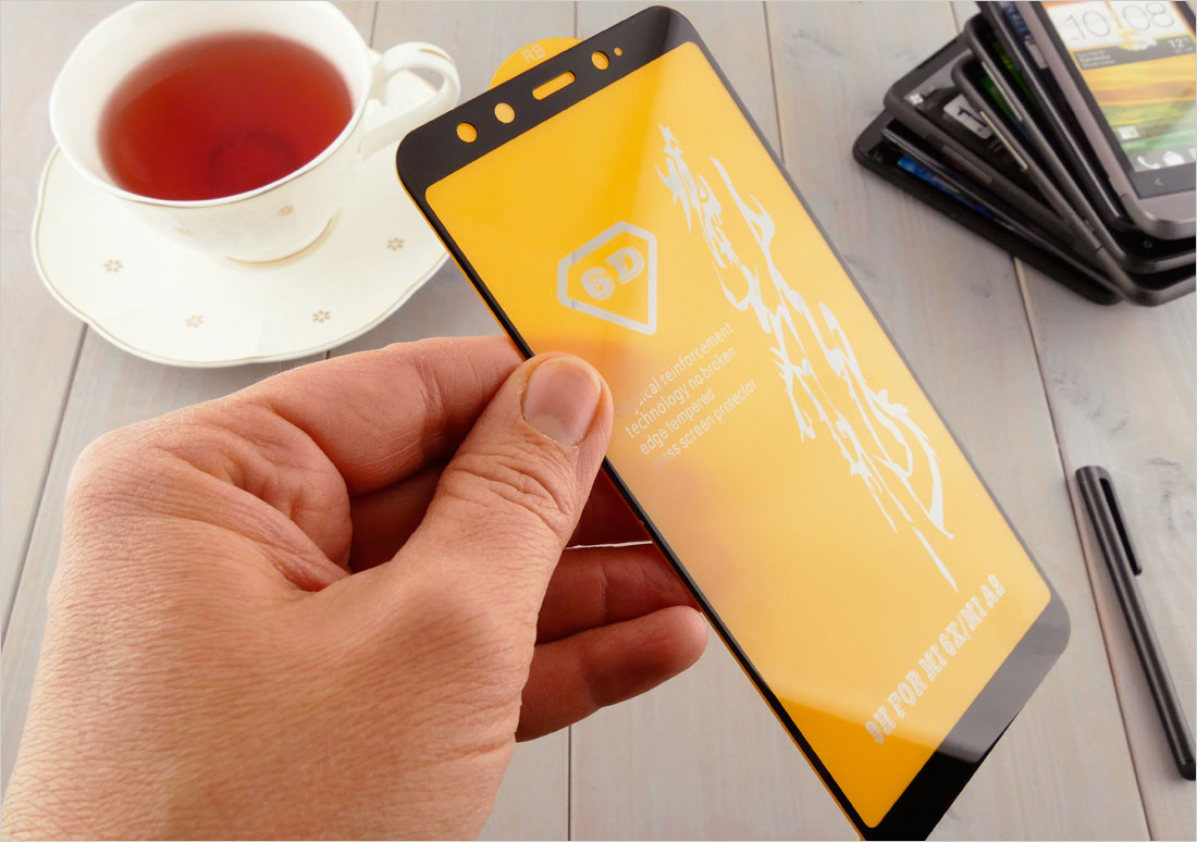 szkło chroniące telefon Xiaomi Mi A2 Mi 6X, M1804D2ST