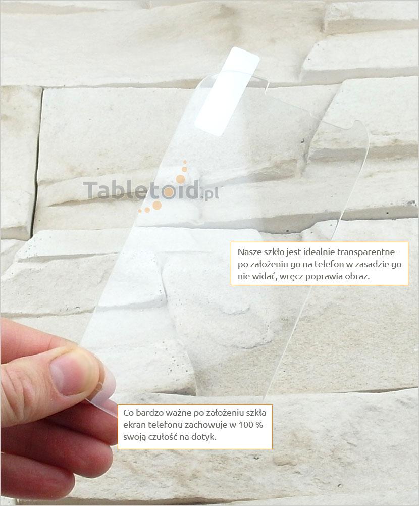 Szkło hartowane dedykowane na telefon Alcatel One Touch Pop C3