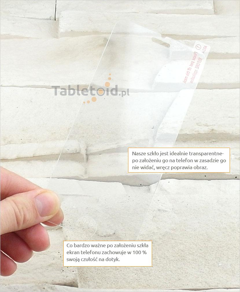 Szkło hartowane dedykowane na telefon Apple iPhone 6 Plus
