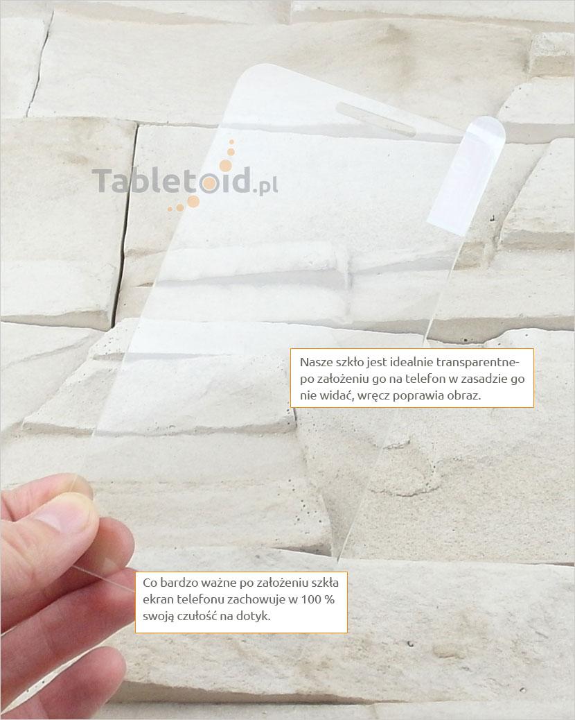 Szkło hartowane dedykowane na telefon Asus Zenfone Go