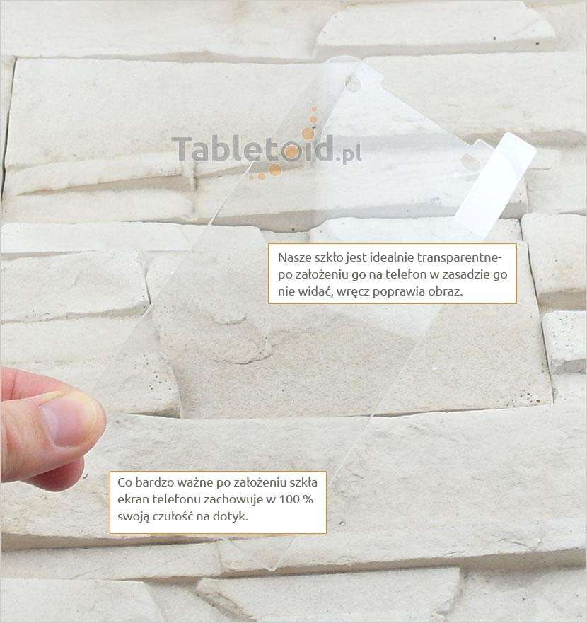 Szkło hartowane dedykowane na telefon HTC Desire 520