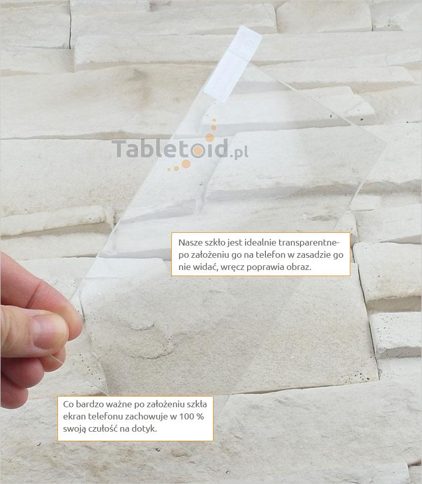 Szkło hartowane dedykowane na telefon HTC One E9+