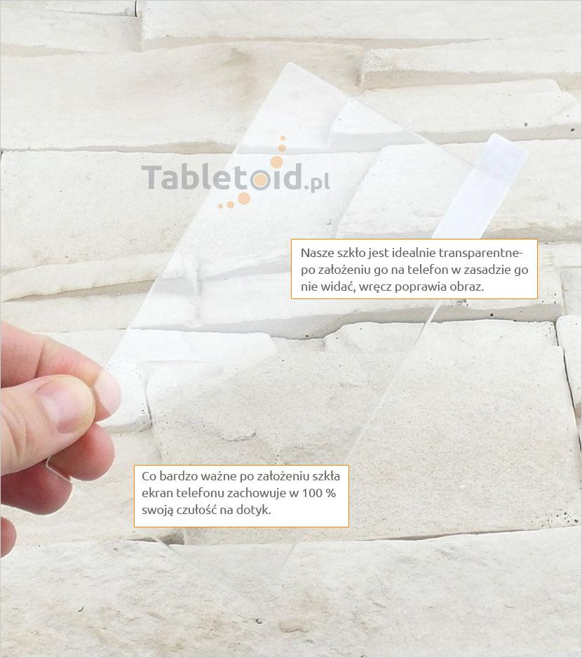 Szkło hartowane dedykowane na telefon HTC One M7