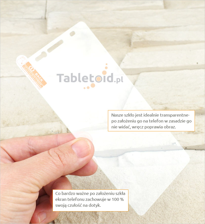 Szkło hartowane dedykowane na telefon Lenovo A7000