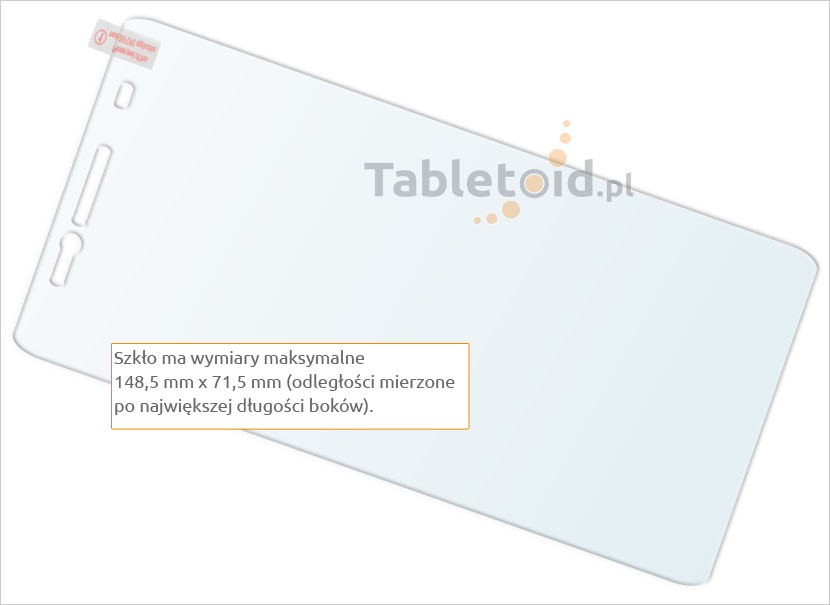 Zawartość ze szkłem Lenovo A7000
