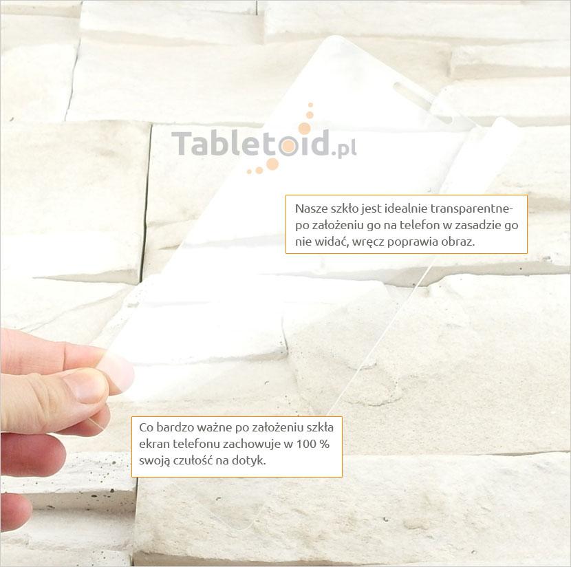 Szkło hartowane dedykowane na telefon Lenovo Vibe P1