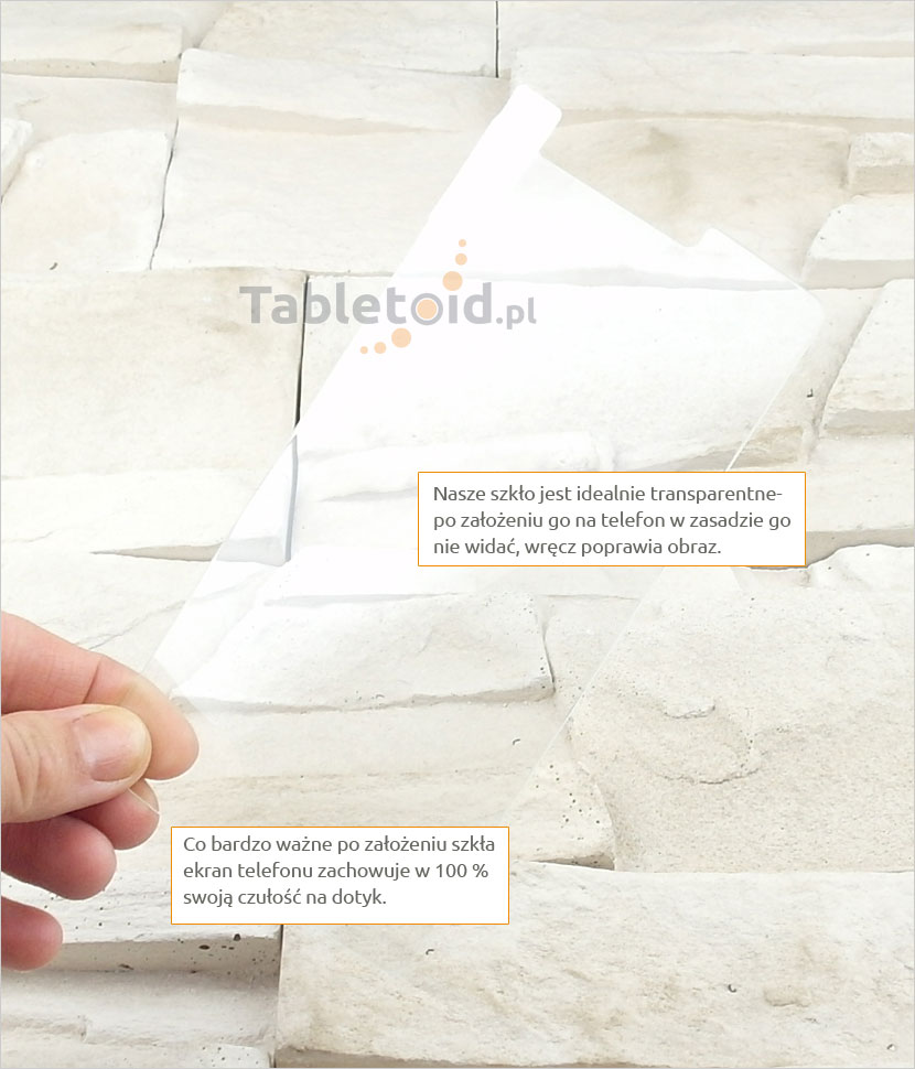 Szkło hartowane dedykowane na telefon LG G3 Stylus