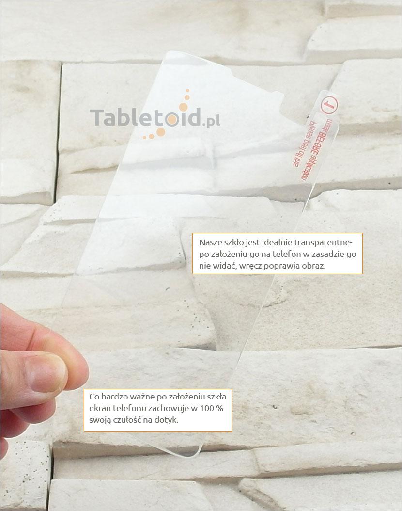 Szkło hartowane dedykowane na telefon LG L Fino