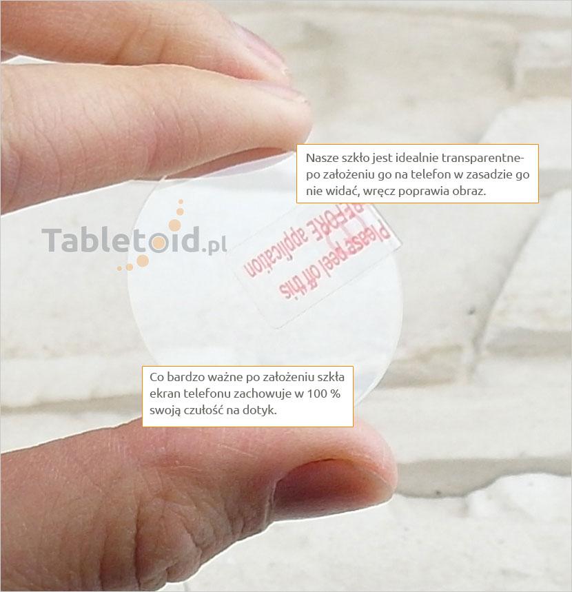 Szkło hartowane na telefon LG W110 watch