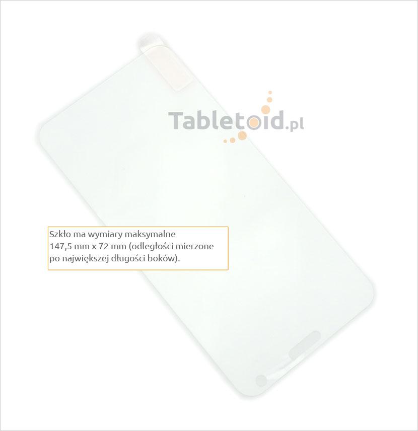 Zawartość ze szkłem Meizu Note 2 Noblue