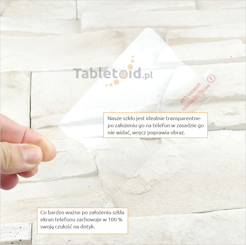 Szkło hartowane dedykowane na telefon Microsoft Lumia 430