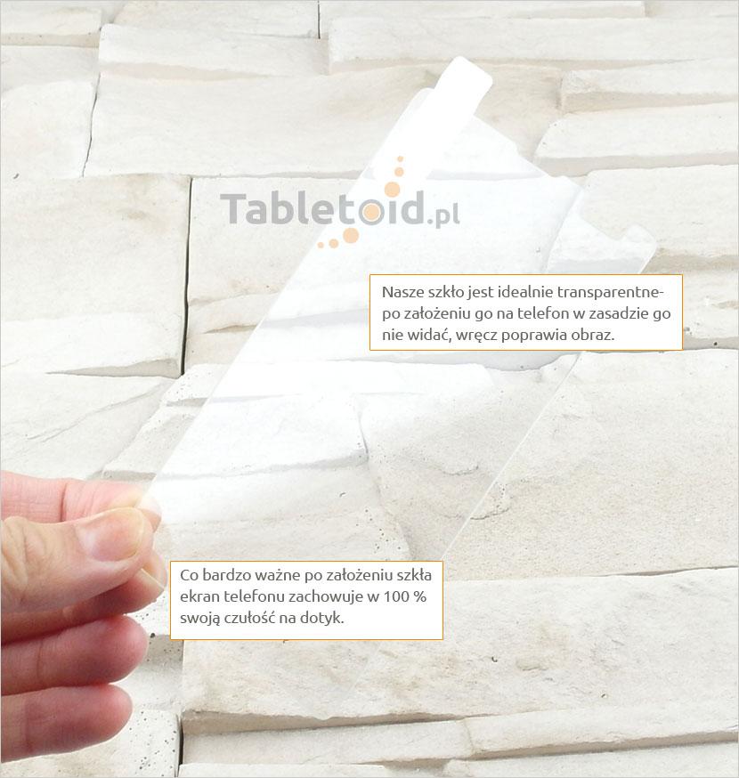 Szkło hartowane dedykowane na telefon Microsoft Lumia 532