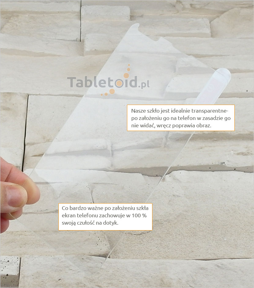 Szkło hartowane dedykowane na telefon Microsoft Lumia 540