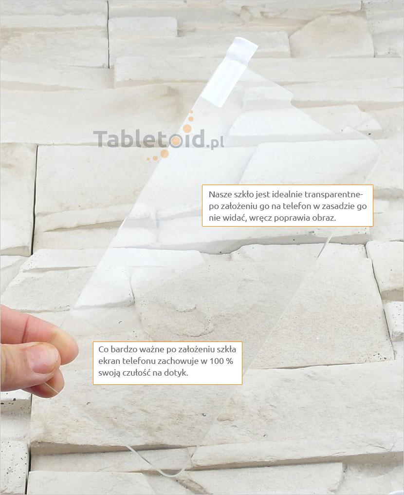 Szkło hartowane dedykowane na telefon Microsoft Lumia 640 XL