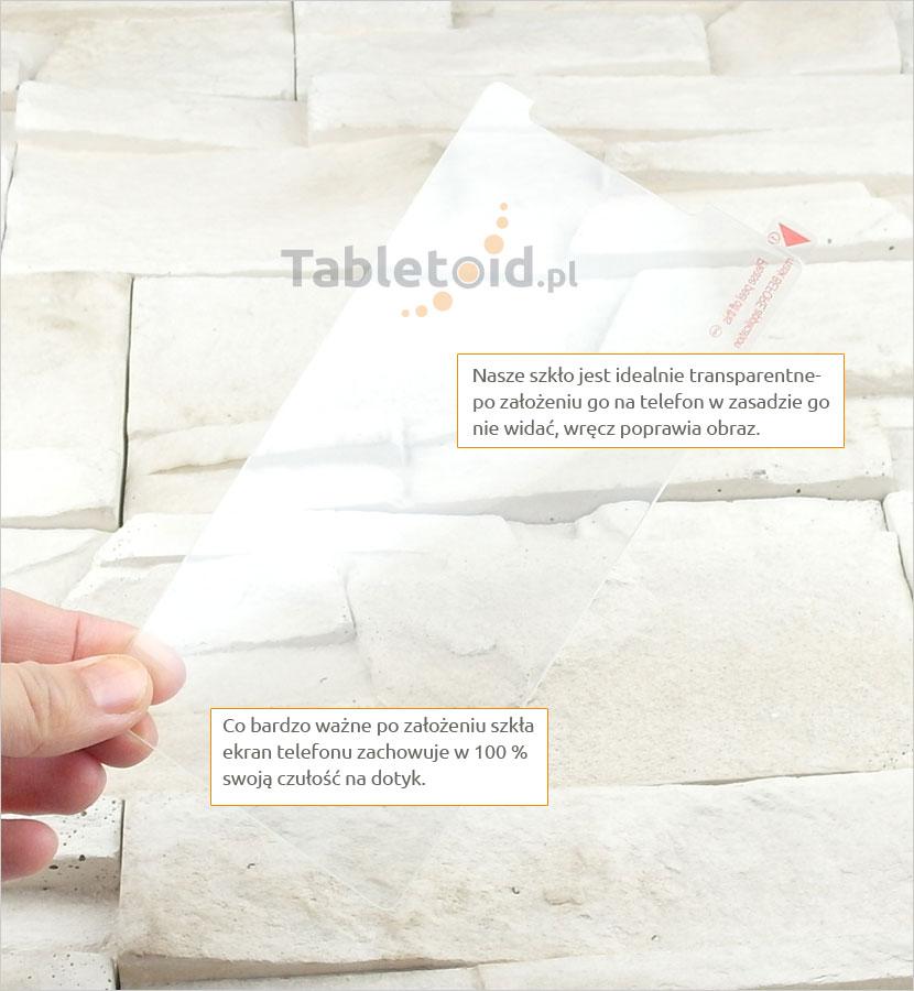 Szkło hartowane dedykowane na telefon Nokia Lumia 1520