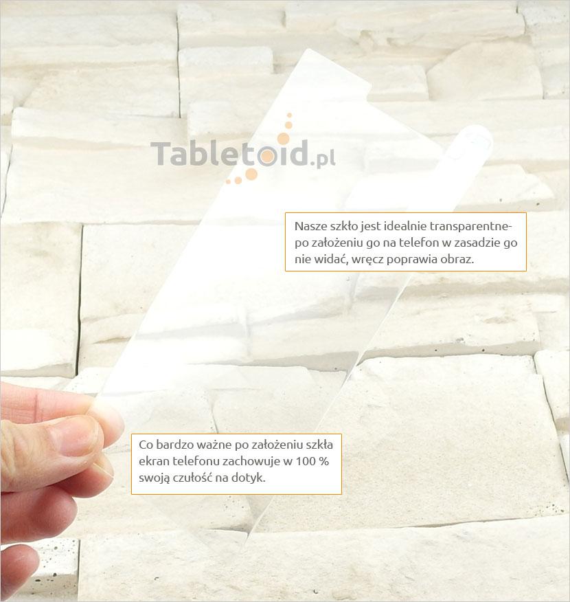 Szkło hartowane dedykowane na telefon Nokia Lumia 730